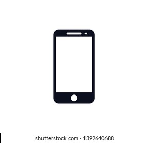 Handphone icon vector logo template