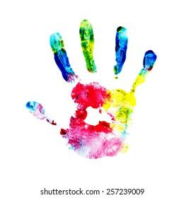 handprint, watercolor hand, kid handprint, kid finger paint , impressionist, kid art, fingerprint, child hand, hand print, finger paint, child art, child fingerprint, coloured hand, kid hand print