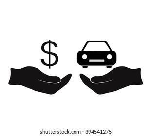 Car Value Icon Stock Vectors Images Vector Art Shutterstock