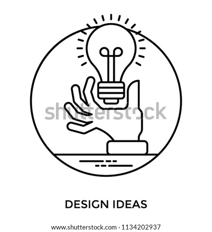 Hands Designer Having Electric Bulb Hand Stock Vector Royalty Free
