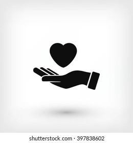 hands of the heart icon