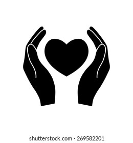 Hands Holding Heart Images, Stock Photos & Vectors