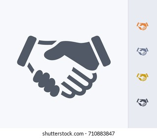 Handshake - Carbon Icons. A professional, pixel-perfect icon.