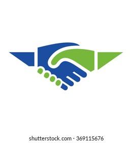 Handshake logo