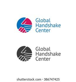 Handshake logo for business