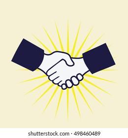 handshake sign