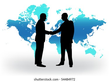 Handshake vector illustration