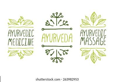 Ayurveda Logo Images, Stock Photos & Vectors | Shutterstock