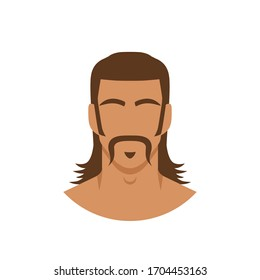 Mullet Hair Images, Stock Photos & Vectors | Shutterstock