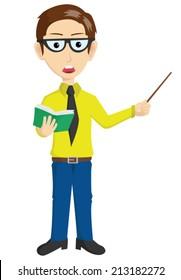 Handsome Teacher Presentation
