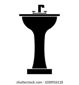 handwash bathroom isolated icon