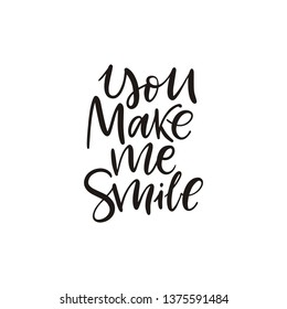 You Make Me Smile Images, Stock Photos & Vectors | Shutterstock