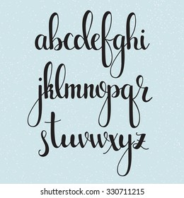 Cursive Letters Images Stock Photos Vectors