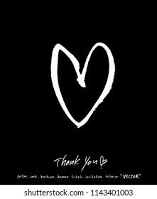 Handwritten calligraphy / anniversary greeting - vector