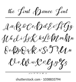 Calligraphy Letters Images, Stock Photos & Vectors ...