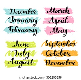 December to January Month Images, Stock Photos & Vectors