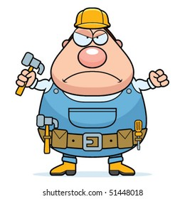 Handyman Angry