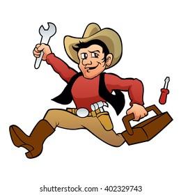 handyman cowboy.