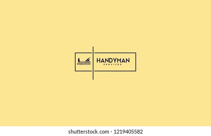 HANDYMAN LOGO FOR LOGO DESIGN OR ILLUSTRATION USE