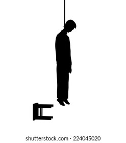 Man Hanged Stock Illustrations Images Vectors