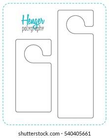 Banking And Financial Door Hanger Template | Door Hanger Images Stock Photos Vectors Shutterstock