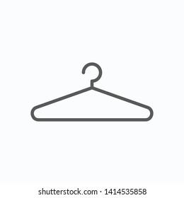 hanger icon, clothes hanger vector