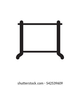 hanger icon illustration isolated vector sign symbol