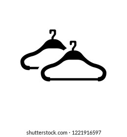 Hanger icon. Trendy Hanger logo concept on white background from Furniture and Household collection. Suitable for use on web apps, mobile apps and print media.