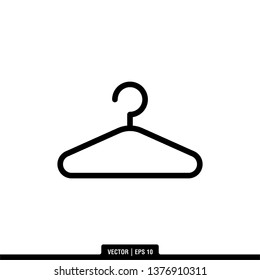 Hanger Icon Vector Illustration Logo Template