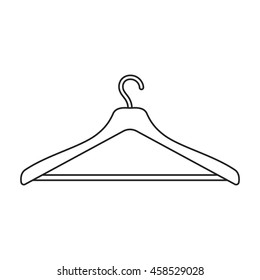 Hanger icon of vector illustration for web and mobile design