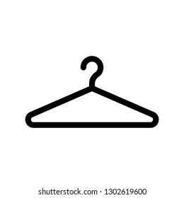 hanger line icon