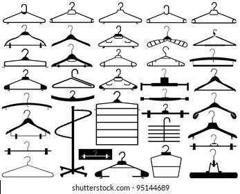 Hanger set isolated