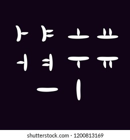 hangul collections/korean alphabet