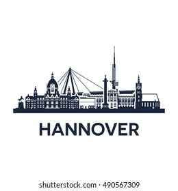 Hannover City Skyline