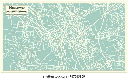 Hannover Map Images Stock Photos Vectors Shutterstock