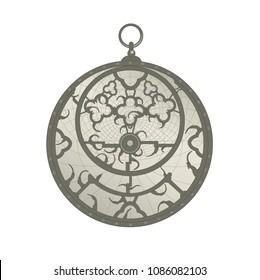Hans Sloane's collection astrolabe