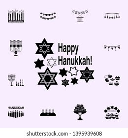 hanukkah cand icon. Hanukkah icons universal set for web and mobile