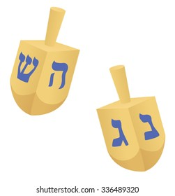 Hanukkah dreidel