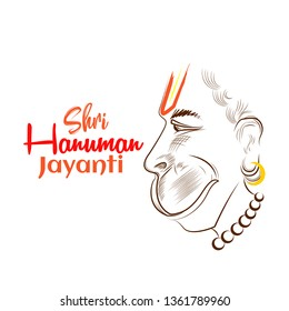 Hanuman Jayanti - vector