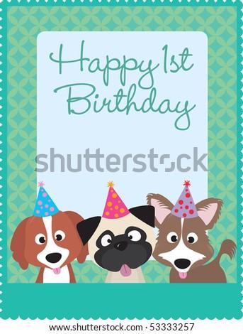 Happy 1st Birthday Puppies