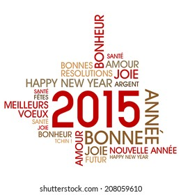 Happy 2015 (french text)
