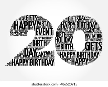 500 20th Birthday Pictures Royalty Free Images Stock Photos And