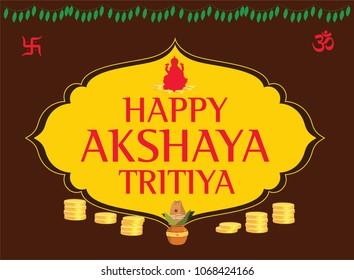 Happy Akshaya Tritiya Unit Vector 2018