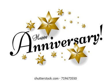 Happy Anniversary Text Images Stock Photos Amp Vectors