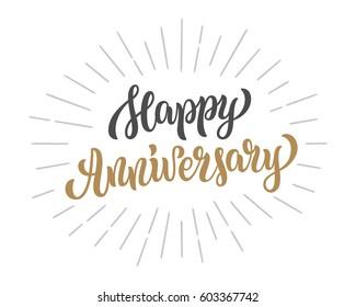 Happy Anniversary Images Stock Photos Vectors Shutterstock