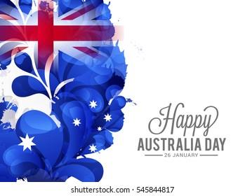 Happy Australia Day Celebration Background.
