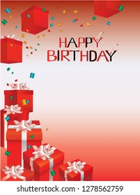 happy birtday-gift packages