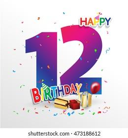 Slikovni rezultat za happy 12 birthday