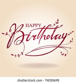Happy Birthday Card Corporate Images Stock Photos Vectors
