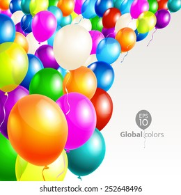 Happy Birthday. Announcement / poster / flyer / greeting card
